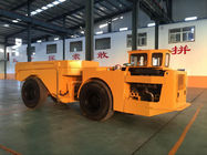 15 Ton Dump Truck Trailer With Wheels , Orange Mining Dump Truck