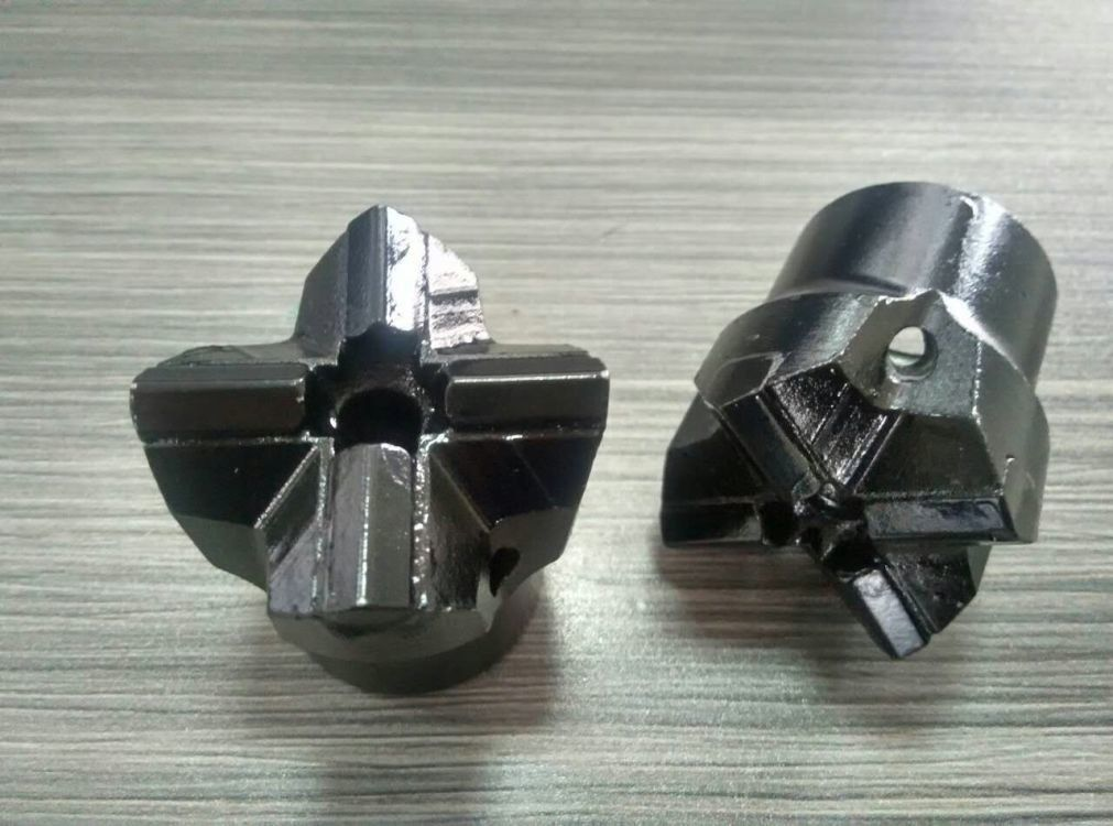 ISO Tungsten Carbide Tapered Cross Bits for Small Hole Rock Drilling Tools