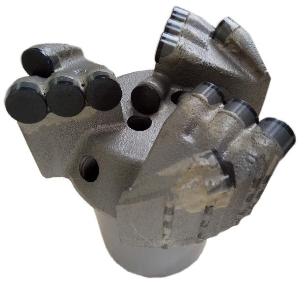 46mm Matrix Body Pdc Drill Bit Flat Face Drill Bit Boring Hole For Oil Well Drilling