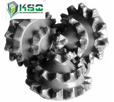 Miled Button IADC642 TCI Roller Tricone Rock Drill Bits Conical Tungsten Carbide Hard Rock
