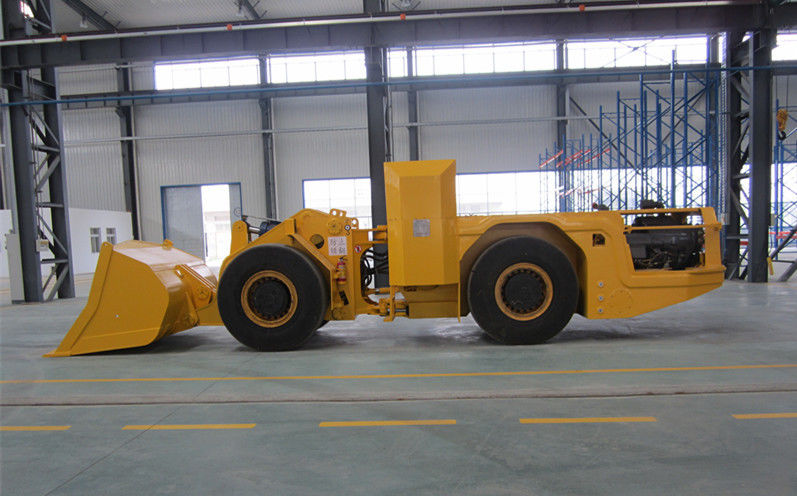 RL-3 Load Haul Dump Machine Yellow load haul trailers underground mining machine